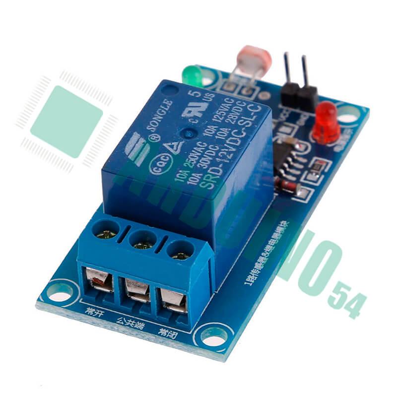 Реле с фоторезистором 1 канал 5V
