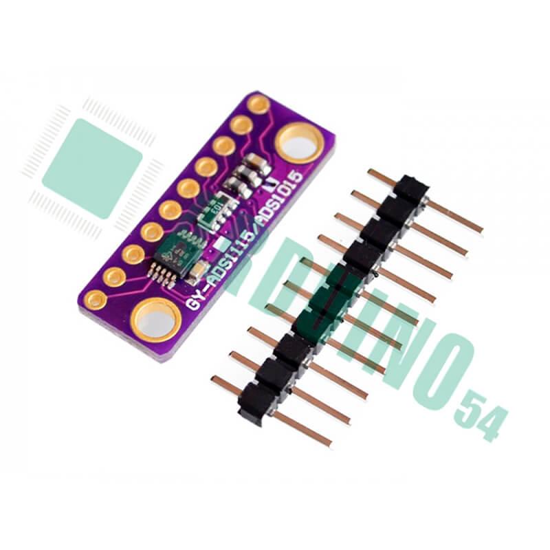 ADS1015 12-разрядный аналого-цифровой преобразователь ADC-конвертер