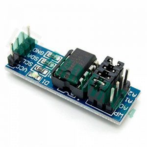 AT24C256 , интерфейс I2C, модуль памяти EEPROM на 256 Кб