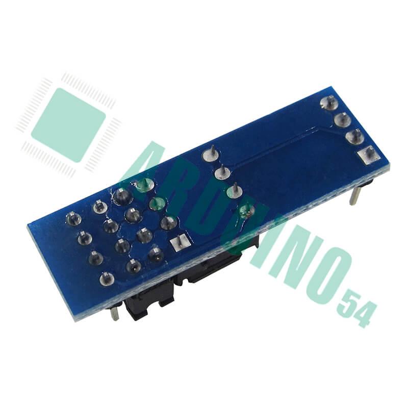 AT24C256 , интерфейс I2C, модуль памяти EEPROM