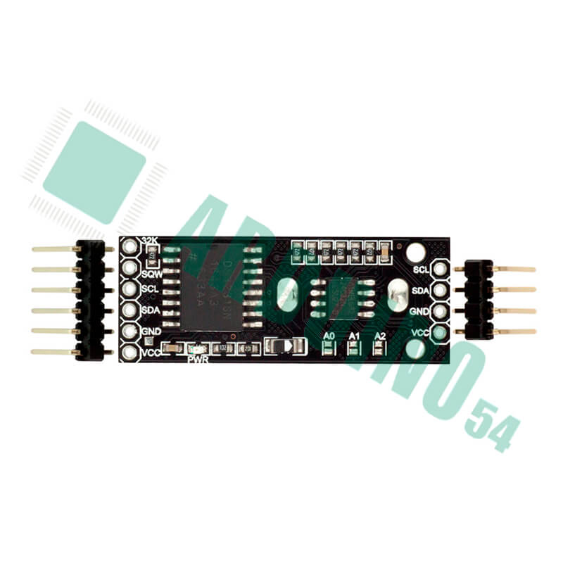 Часы реального времени RTC 053231 + модуль памяти  EEPROM ATC02, с батарейкой