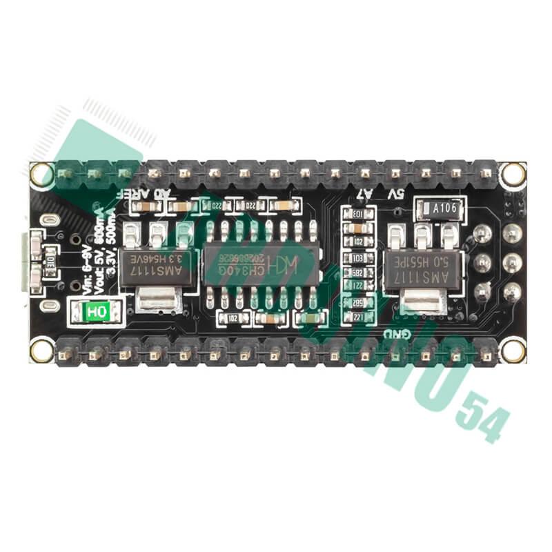 Arduino Nano V3.0 (ATmega328) c MicroUSB (CH340G) без кабеля