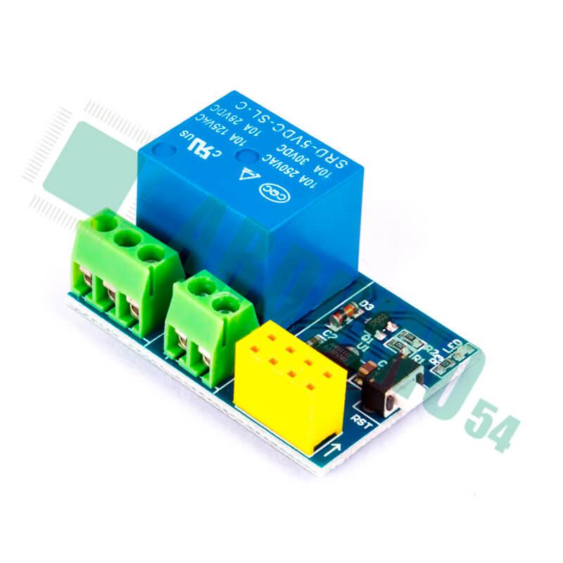 WI-FI реле модуль 1 канал под ESP8266/ESP-01S