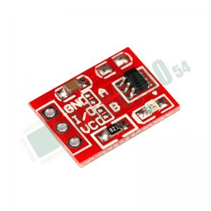 Сенсорный выключатель на модуле TTP223 (красный)