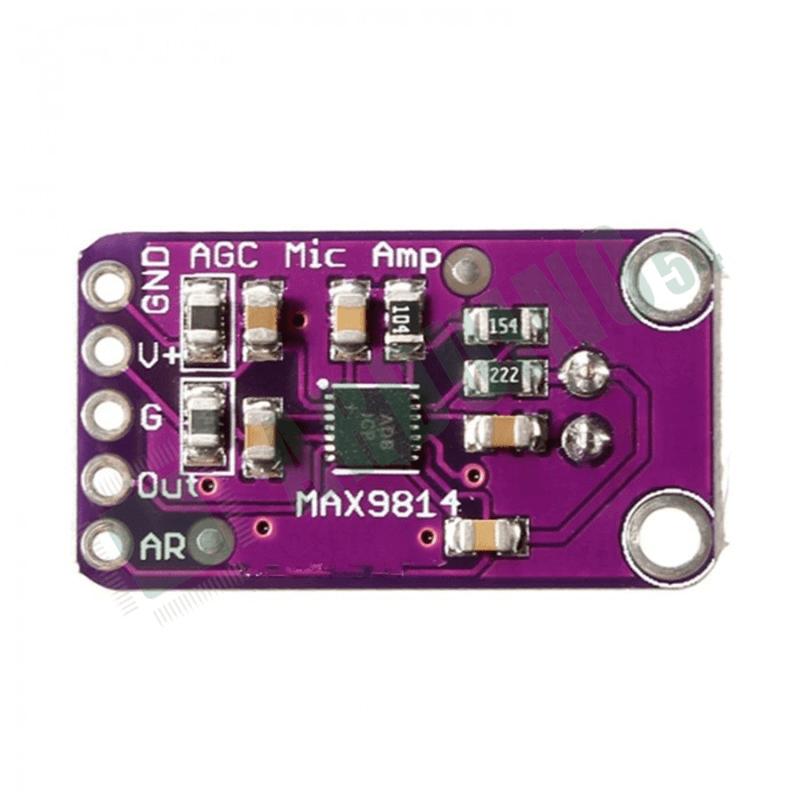 Микрофонный усилитель GY-MAX9814 с АРУ