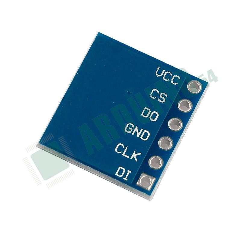 Модуль Flash памяти ёмкостью W25Q64 8 МБайт SPI