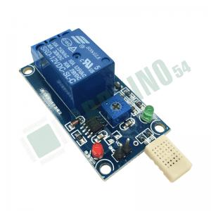 Реле 5V с регулируемым датчиком влажности и температуры HR202