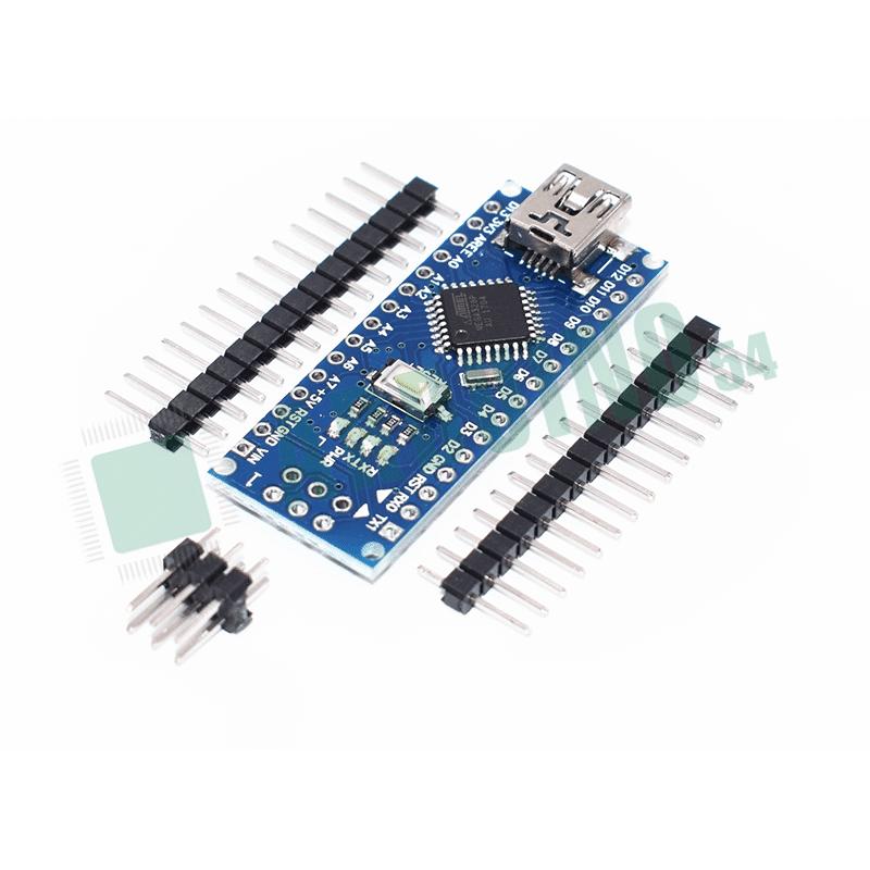 Arduino Nano V3.0 без кабеля, ножки не впаяны
