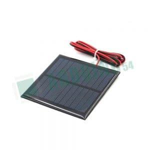 Солнечный элемент с проводом -  5V 200mA - 100мм * 70мм