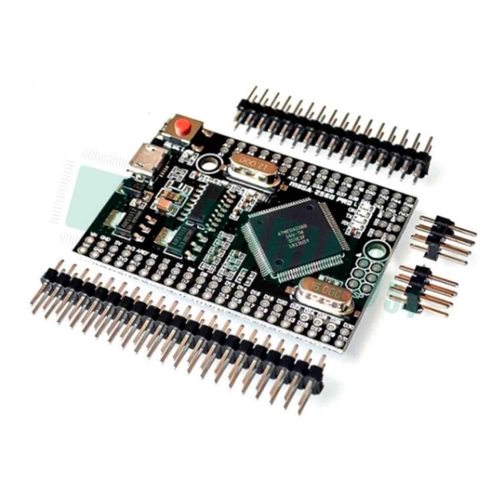 Arduino Mega 2560 PRO Embed ATmega2560 — CH340G Разъем microUSB