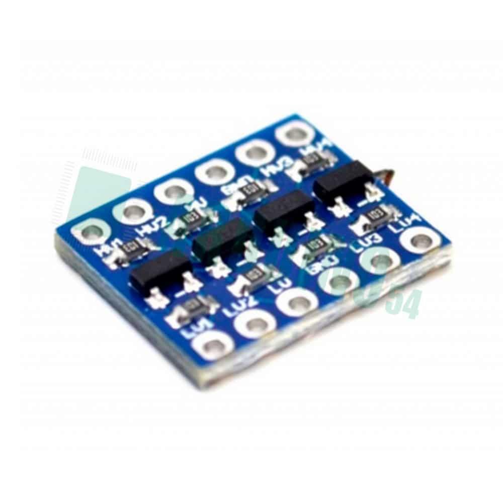 Конвертер логических уровней 5В / 3В двунаправленный 4-канальный