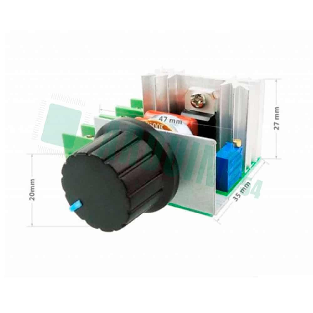 2000W 220V AC SCR Электрический кремниевый регулятор напряжения