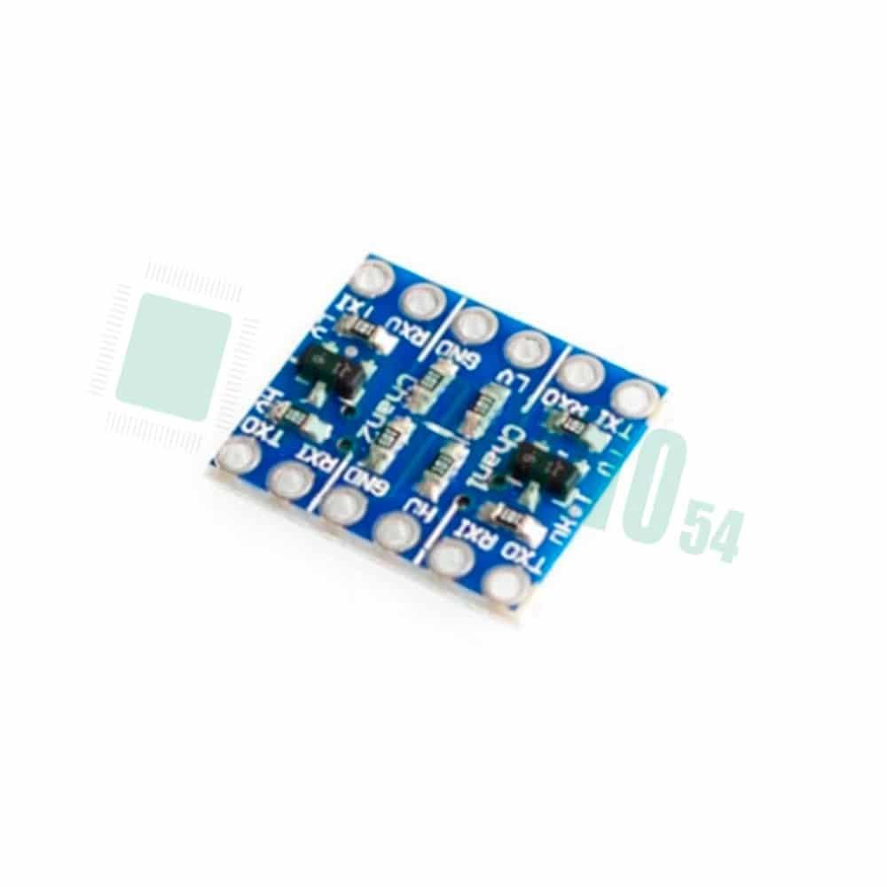 2-канальный двунаправленный преобразователь логических уровней 5 В до 3,3 В
