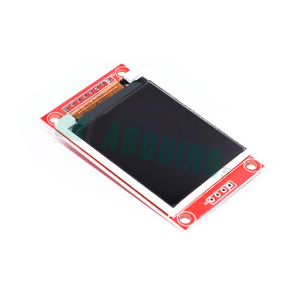 TFT SPI дисплей 1.8″ на базе ST7735 (128×160)