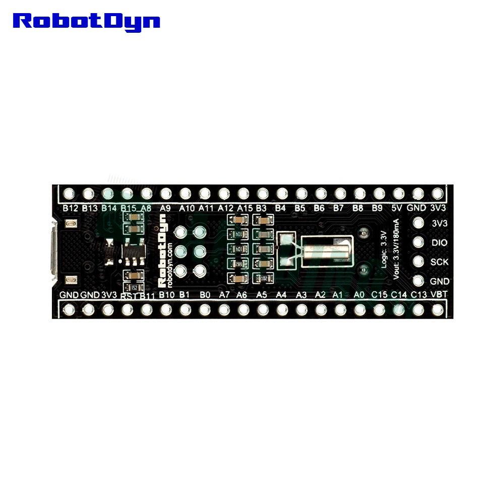Плата Black Pill STM32F103C8T6 64KB Flash ARM Cortex M3 с Arduino bootloader