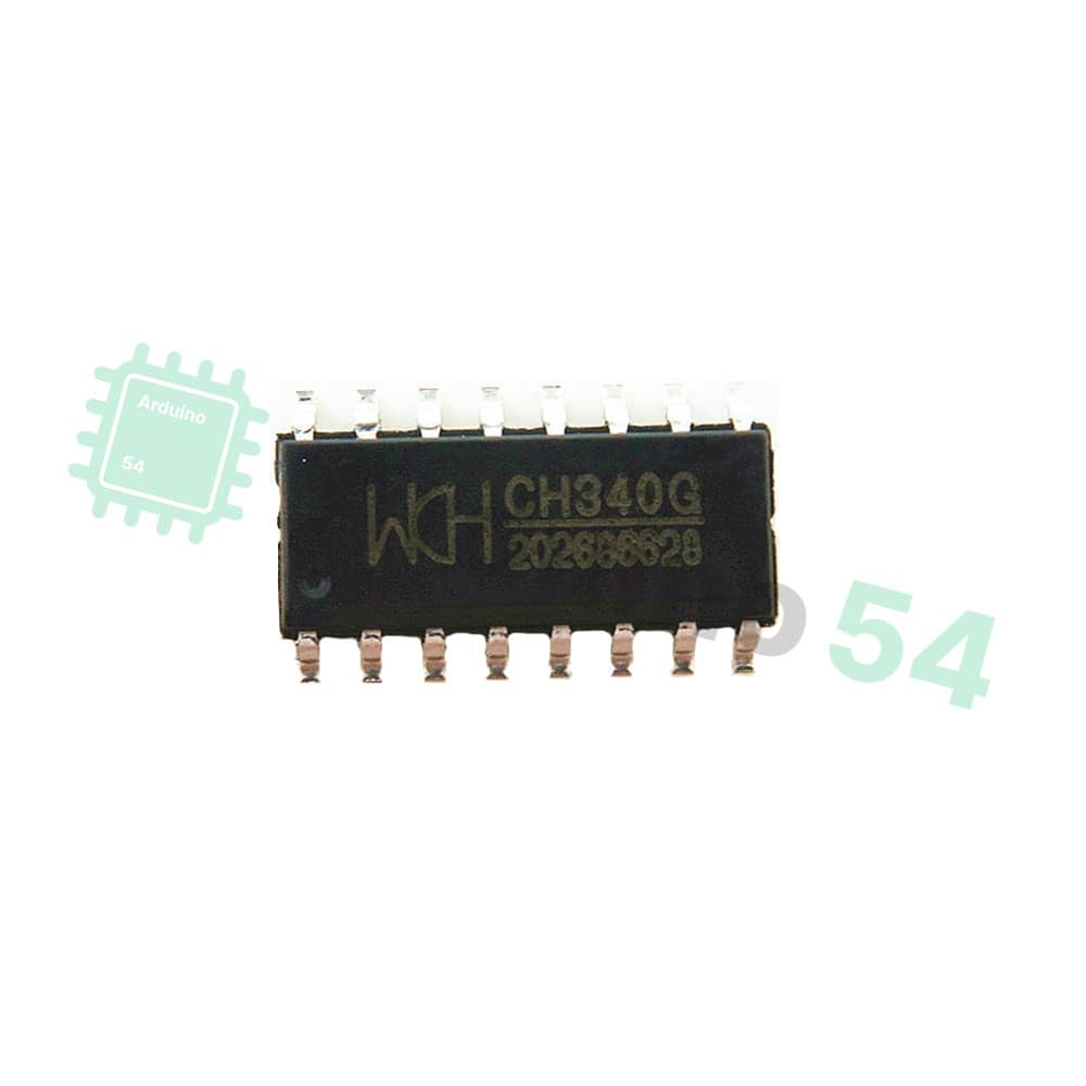 Микросхема CH340G SOP16 интерфейс USB-Serial
