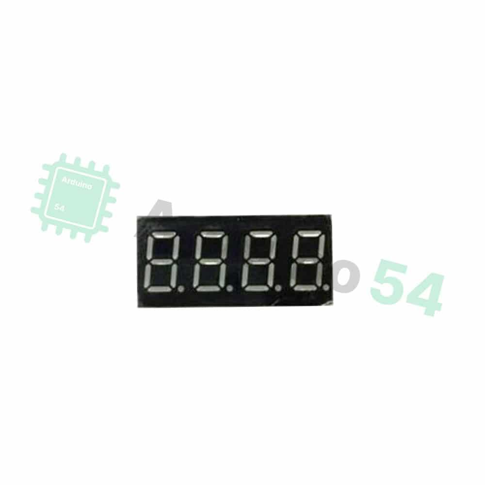 Сегментный индикатор 0.36″, 4 разряда, красный, ОА, 3461BS