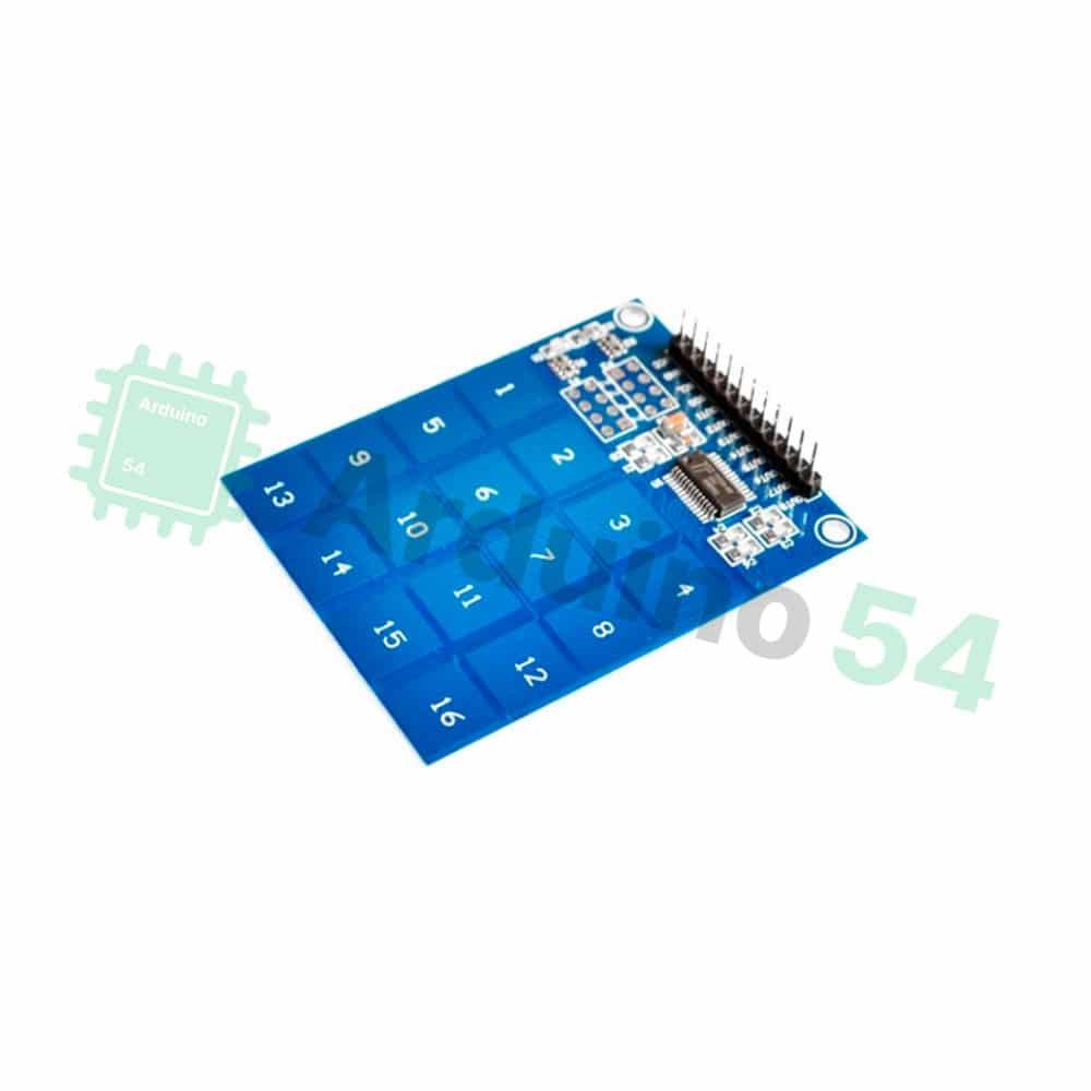 Матрица из 16 сенсорных кнопок на TTP229