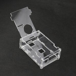Акриловый корпус с отверстием под кулер для Raspberry Pi