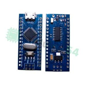 Arduino Nano V3.0 (ATmega328) c MicroUSB (CH340G) без кабеля, ножки не впаяны