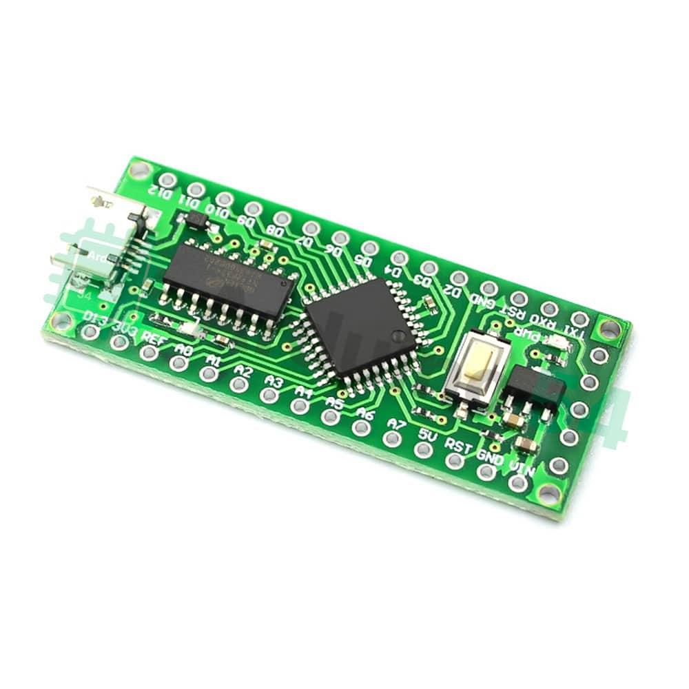 Контроллер MiniEVB на LGT8F328P-LQFP32 (HT42B534)