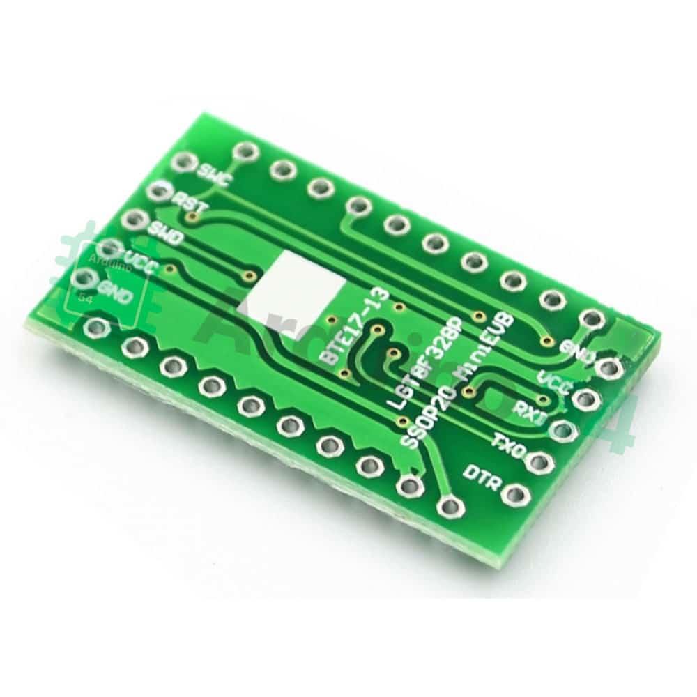 Контроллер MiniEVB на LGT8F328P-SSOP20