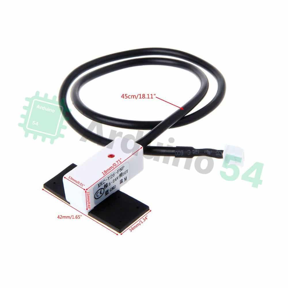 Бесконтактный датчик воды XKC-Y26-PNP (24V)