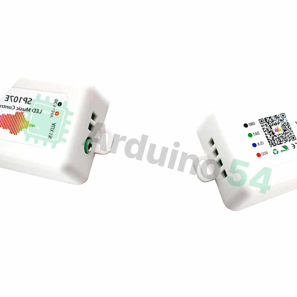 SPI Led Music контроллер SP107E для управляемых лент