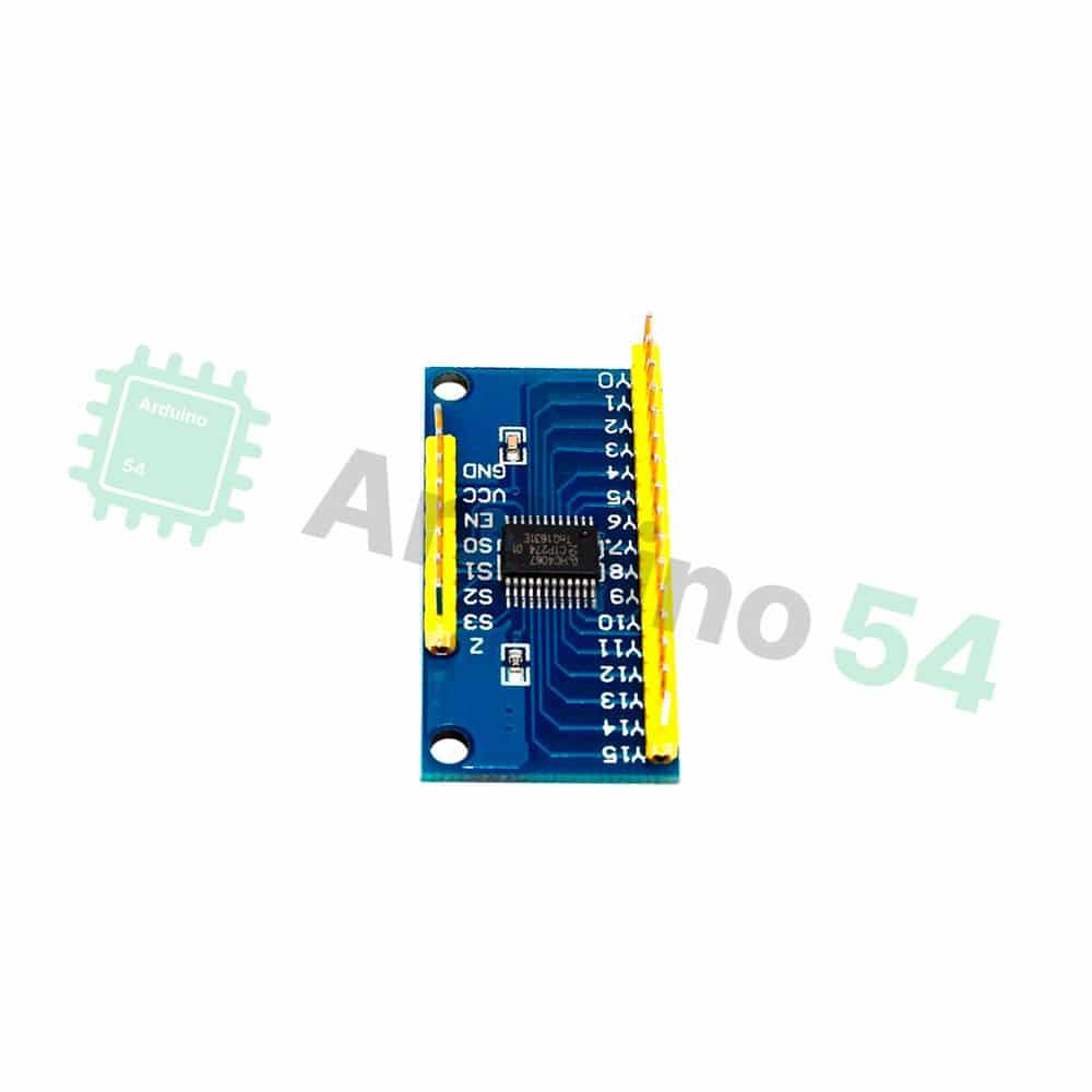 Мультиплексор на 16 каналов CD74HC4067