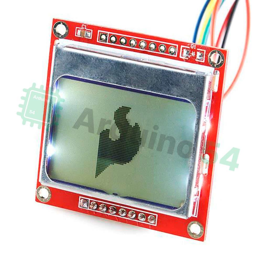 LCD дисплей Nokia 5110 (84×48)