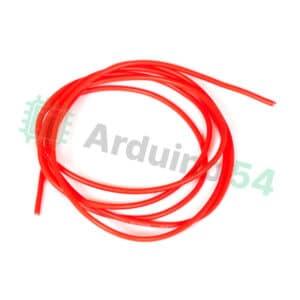 Мягкий силиконовый провод 20AWG, красный, 1 метр