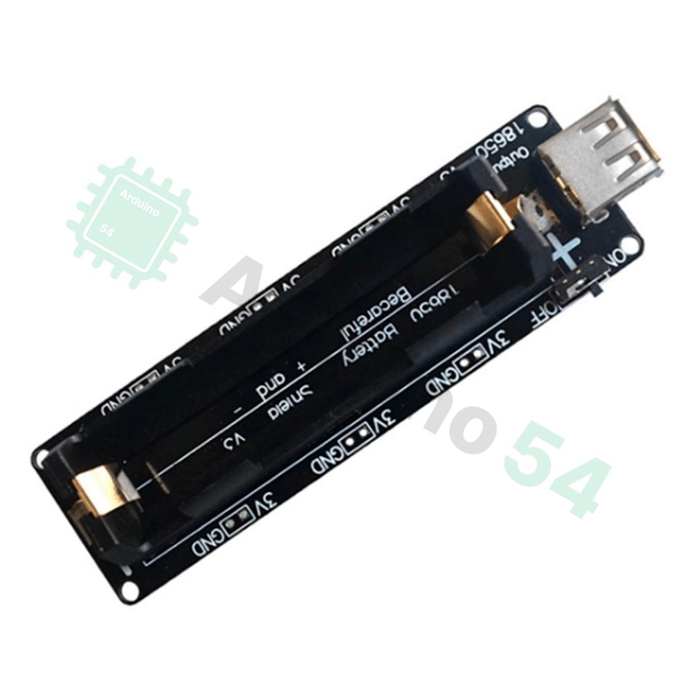 Плата питания от аккумулятора 18650 V3 (18650 Battery Shield V3)