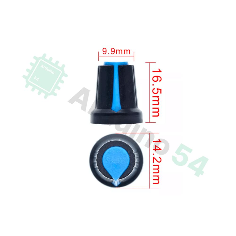 Ручка для потенциометра WH148 (несколько цветов)