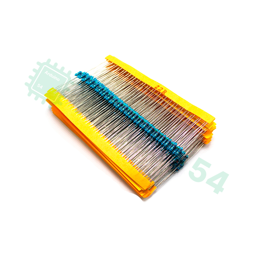 Набор резисторов 0.25 Вт / 600 шт. (30 номиналов по 20 штук)