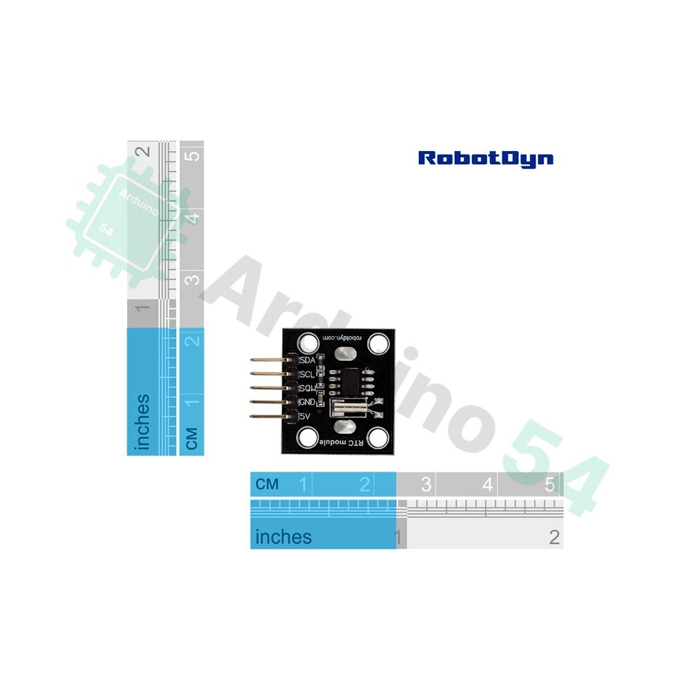 Модуль часов реального времени RTC DS1307 от RobotDyn